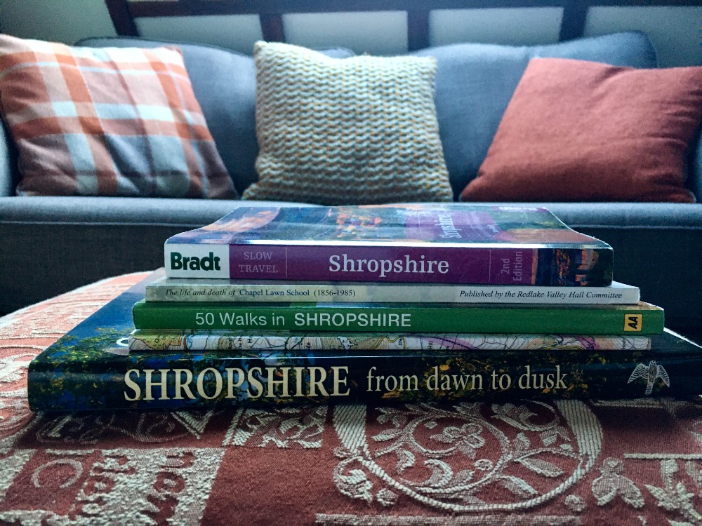 Books about Shropshire